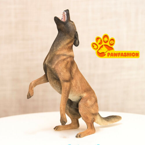 1//6 Scale Belgian Malinois Statue Standing Dog Model Resin GK Accessories PAW