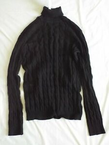 Coofandy Mens Ribbed Slim Fit Knitted Pullover Turtleneck Sweater