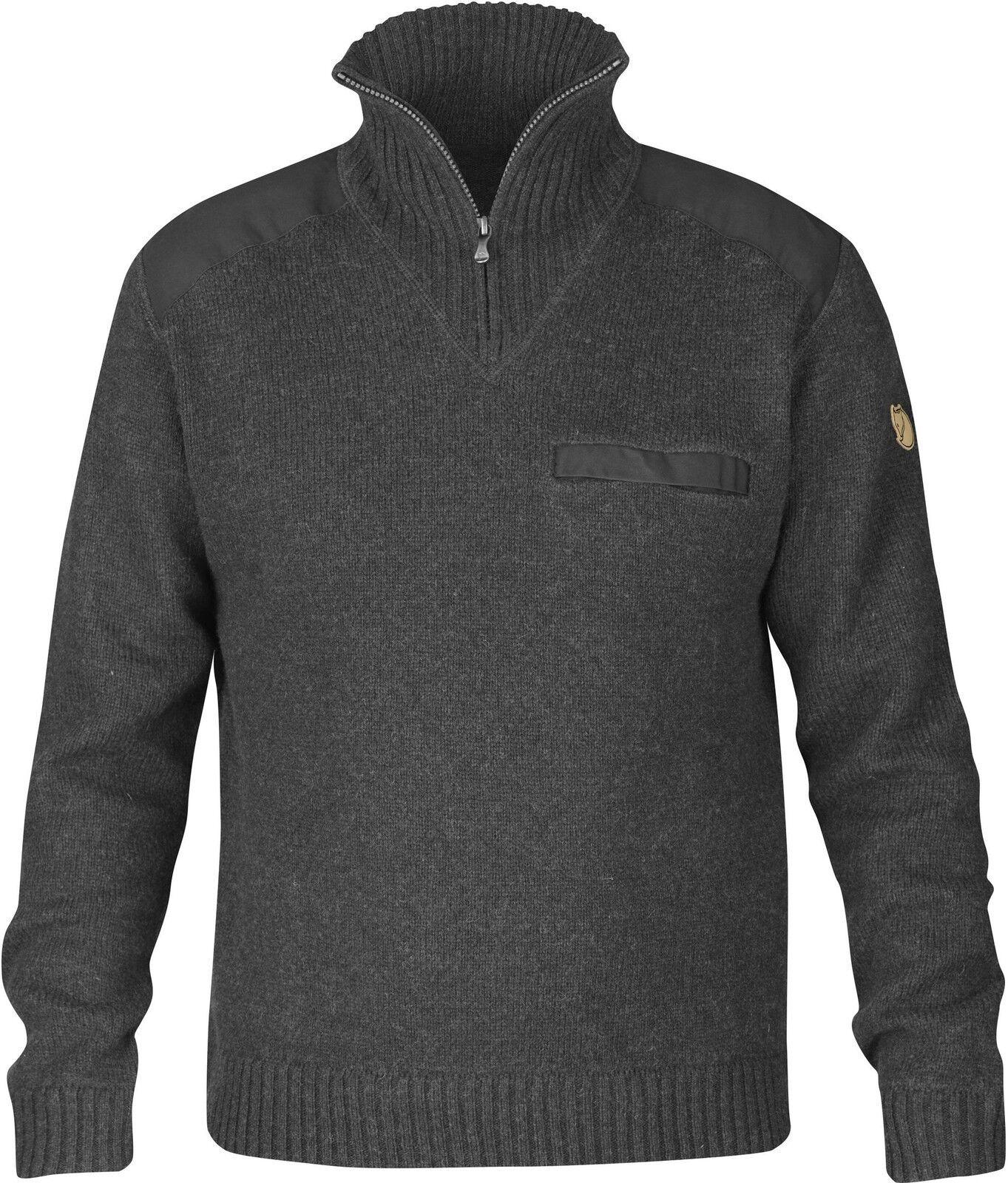 Fjäll Räven Koster Sweater Men Jumper Size XL Dark  Grey 90487  cheap wholesale