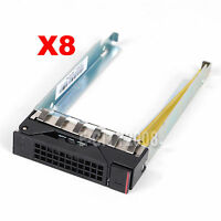 Lot Of 8, 2.5 Sata Hdd Drive Caddy Tray For Lenovo Thinkserver Rd350 Us Seller
