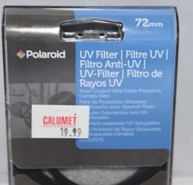 Polaroid PLFILUV72 Multi Coated UV Filter 72mm Black