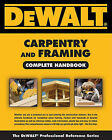 Dewalt Carpentry and Framing Complete Handbook by Gary Brackett (Paperback / softback, 2011)