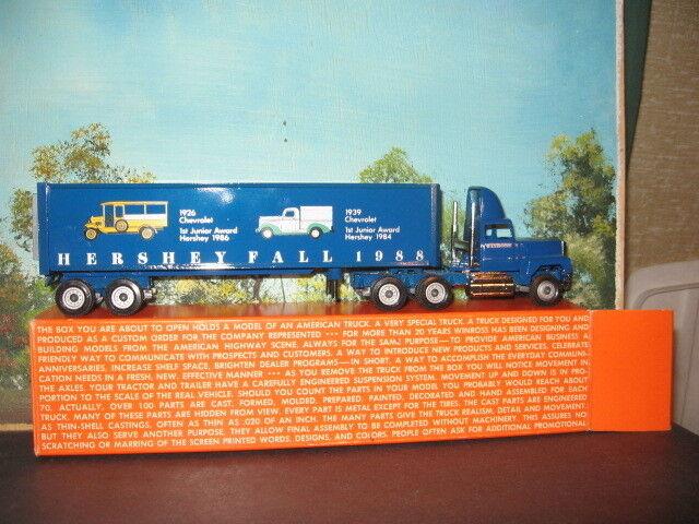 Winross 1 64 Hershey caída blu 1988 Tractor Y Trailer