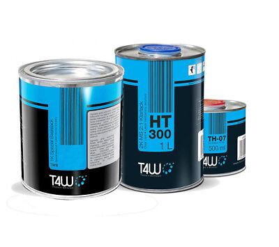 Klarlack GüNstiger Verkauf T4w Vw Lc6v C6v Perlcolor Grün 2,5 Liter Set Autolack Härter Aromatischer Geschmack