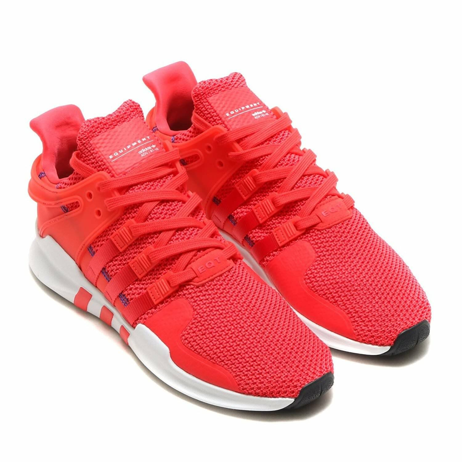 Adidas Mens EQT Support ADV Sneaker Red White CQ3004