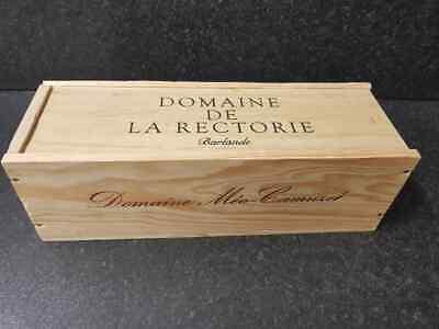 Taglia Unica Bottiglia-vino In Legno Box Gabbia Per Vintage Shabby Chic Home Storage-mostra Il Titolo Originale Sapore Puro E Delicato