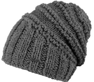 Barts-Muetze-TAMARA-Beanie-dark-heather-ONE-SIZE-Strick-Muetzen-Wintermuetze-HW17