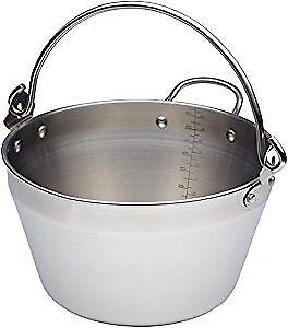 Home Made Kitchen Craft 4.5 litros de inducción seguro Mini morcajo Pan