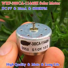 3PCS Ultra Mini K20 Motor DC 1.5V~6V 3V 6000RPM Small Mute Silent Solar Motor