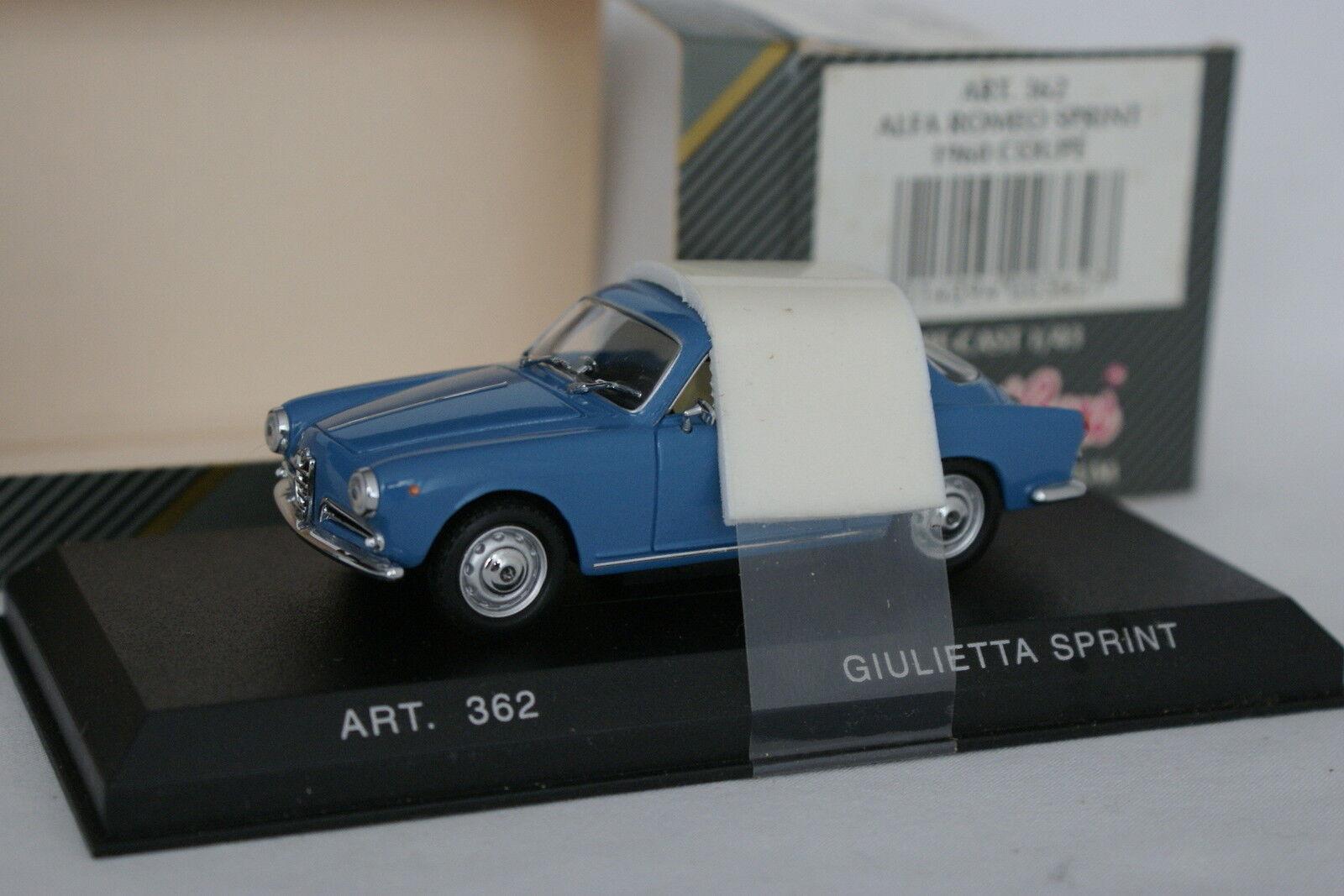 Detailcars 1 1 1 43 - Alfa Romeo Giulietta Sprint blue f7e80f