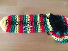 Handmade Crochet Personalised Rasta Willy Warmer