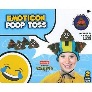 Emoticon-Emoji-Poop-Tirage-au-Sort-Competence-Jeu-2-Lecteur-Amusant-Age-5