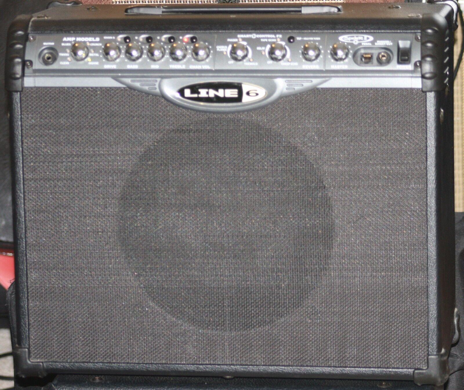 Line 6 Spider II 75 Watts 1x12 Combo Amplifier.Amp models.Effects.Celestion