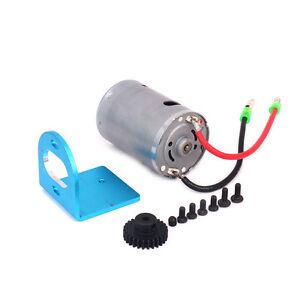 1 set 540 Motor W/ Fan + Mount + Gear For RC 1/18 Wltoys A959 A969 A979 K929