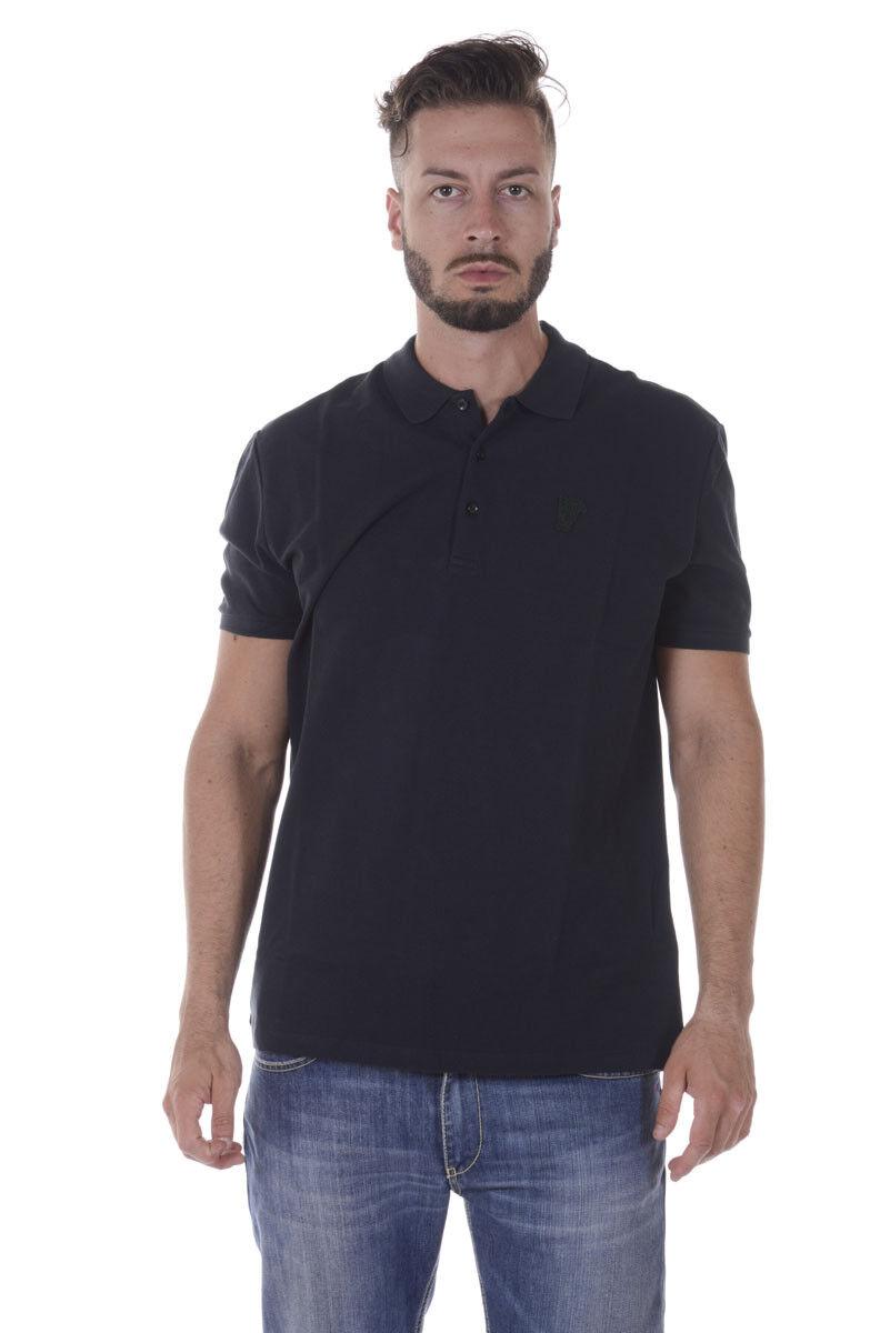 Polo Versace Collection Shirt Cotone Uomo verde V800543AVJ00068 V1504
