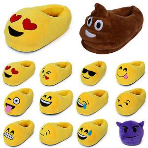 Unisex m nner damen emoji hausschuhe schuhe hausschuhe - Lustige pantoffeln ...