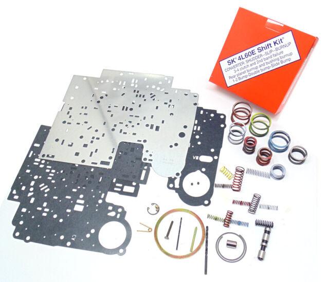 TRANSGO 4L60E SHIFT KIT & Valve Body Separator Plate Combo 2001-2006 GM  (21601)*