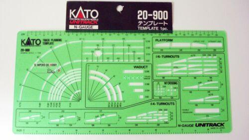 KATO PLANTILLA REGLA PARA MAQUETAS RFA 20-900