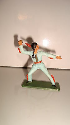 Il Prezzo Più Economico Figurine Figur Starlux Indien N°108 (5x5cm) In Corto Rifornimento