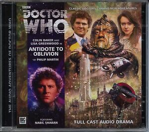 Dr-Doctor-Who-Antidote-to-Oblivion-Audio-CD-MINT-Colin-Baker