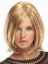 BOB Perücke Blonde Mix Locken UNTER Glatt VOLUMEN Perrücke Haar Parücke Mode Wig