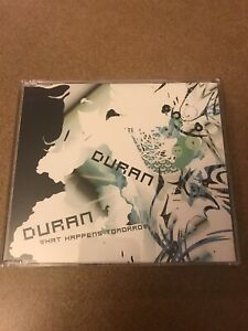 Duran-Duran-What-Happens-Tomorrow-EU-4-Track-CD-675650-2-EX-Condition-Free-Ship