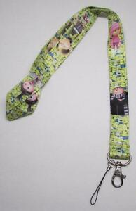 Children-MINIONs-Despicable-Me-LANYARD-KEY-CHAIN-Ring-Keychain-ID-Holder-NEW
