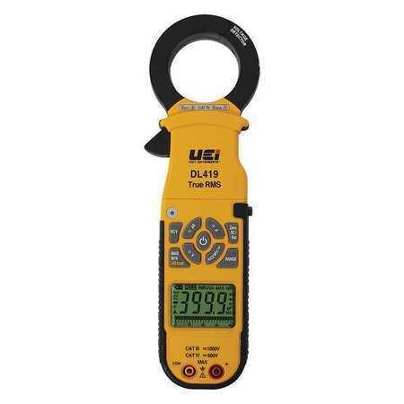 Clamp Meter,Digital,2000A UEI TEST INSTRUMENTS DL419