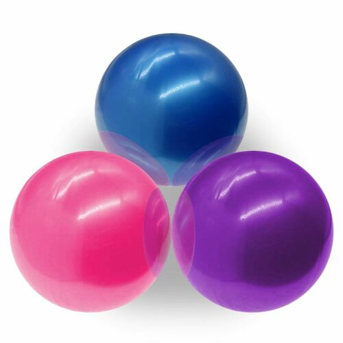 Details about  /Exercise Yoga Ball Yoga Fitness Pilates Sculpting Balance Include Pump Workout