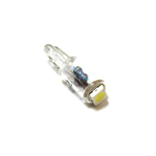 Isuzu Trooper 286 T5 White Interior Glove Box Bulb LED High Power Light Upgrade