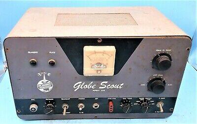 Globe Electronics 680 Ham Radio Transmitter No Transformers Ebay