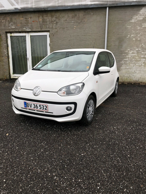 VW Up!, 1,0 75 Move Up! BMT, Benzin, 2013, km 169500, hvid,…
