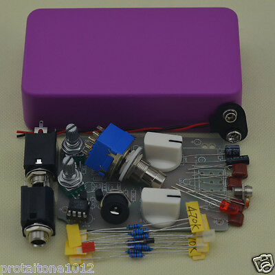 DIY Compressor Effect pedal Complete Kit With 3PDT 9-Pin Foot Switch True Bypass