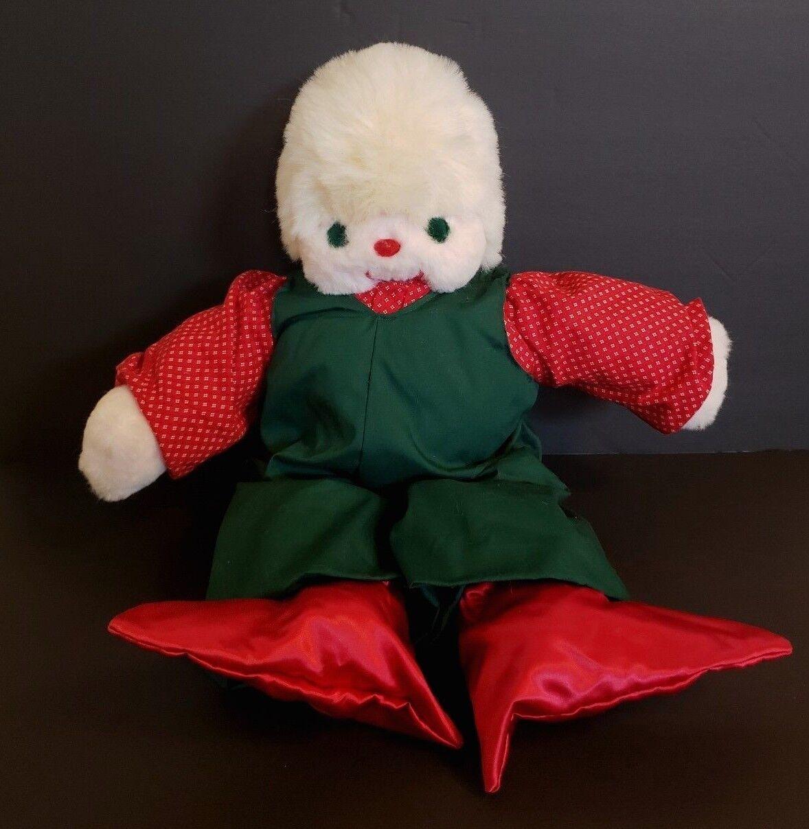 Vintage Ms Noah Christmas Holiday Plush C.R. Christmas Regardless Snowman 21