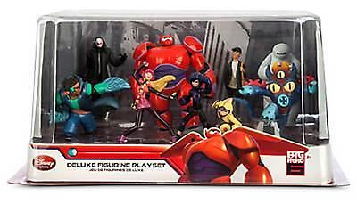 Disney Store Baymax Hiro Wasabi Fred Tadashi Yokai Big Hero 6 Figure Play Set Ebay