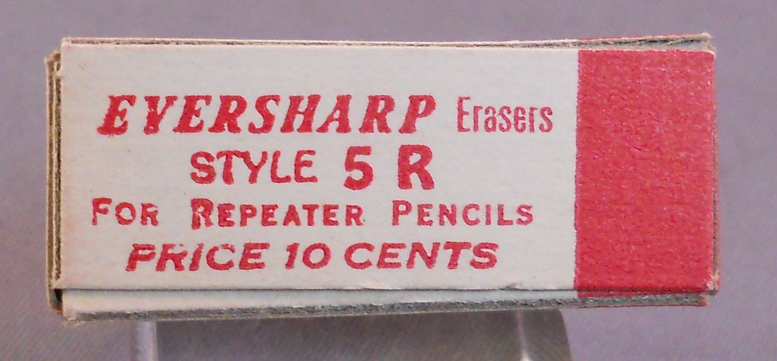 Eversharp 5-R Vintage Erasers--NEW OLD STOCK