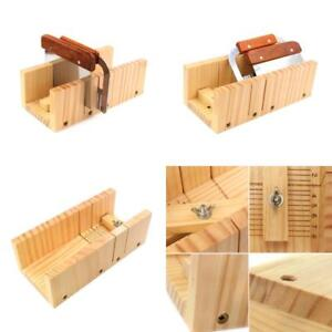 Details about Adjustable Wood Soap Cutter Set Mold Handmade Loaf Cutter  Soap Making Tools