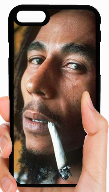 BOB MARLEY REGGAE PHONE CASE COVER FOR IPHONE XS MAX XR X 8 7 6S 6 ...