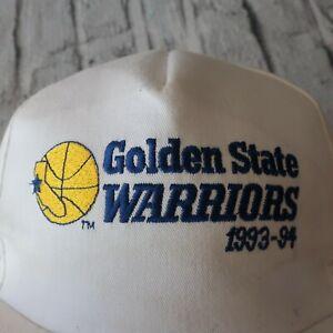 Vintage-90s-Golden-State-Warriors-Snapback-Hat-Promotional-Cap