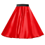 Rock-n-Roll-SATIN-Skirt-OR-Scarf-UK-LADIES-1950s-Costume-Musical-Fancy-dress thumbnail 5