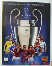 ALBUM CALCIATORI PANINI UEFA CHAMPIONS LEAGUE 2011-12 vuoto con figurine cedole