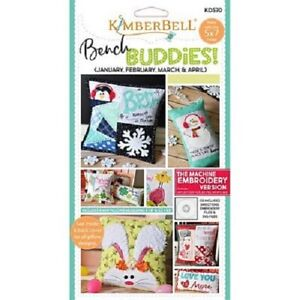 Kimberbell-KD570-Bench-Buddy-Jan-Apr-Machine-Embroidery-CD