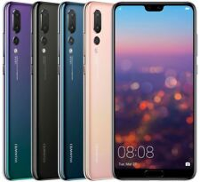 Huawei P20 Pro 128GB CLT-L29 Dual Sim (FACTORY UNLOCKED) Black, Blue, Twilight