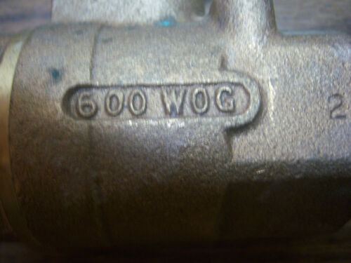 "NEW APOLLO C11 1-1//4/"" NPT BRONZE BALL VALVE 600 WOG NNB"