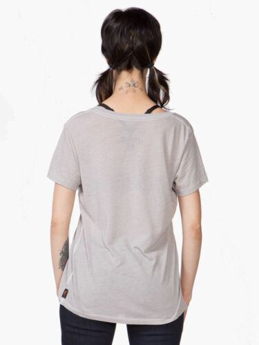 "NEW Trunk Ltd Women/'s Casual Shirt /""kurt cobain/"" V-Neck S//s GRAY size m"