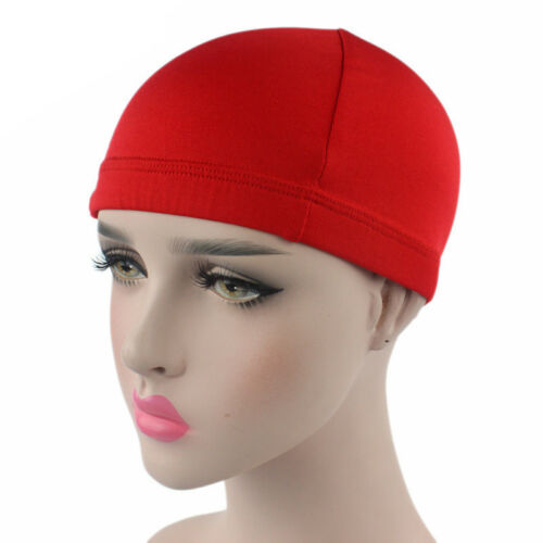 4 Colors Unisex Women Men Beanie Hat Skull Fitted Plain Head Wrap Sport Wave Cap