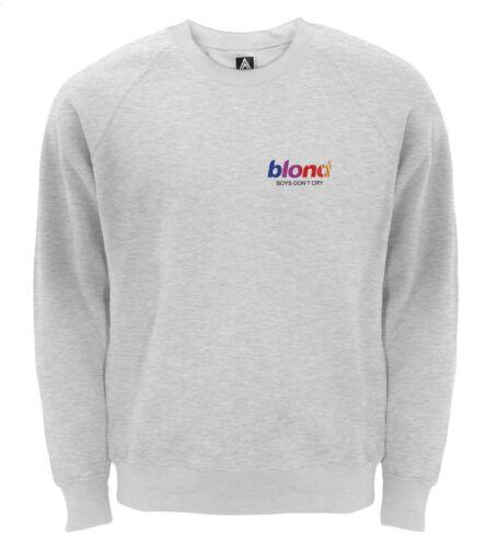 blonde Boys Dont Cry Chest Print Sweatshirt Music Fresh Album Frank Ocean Sweat