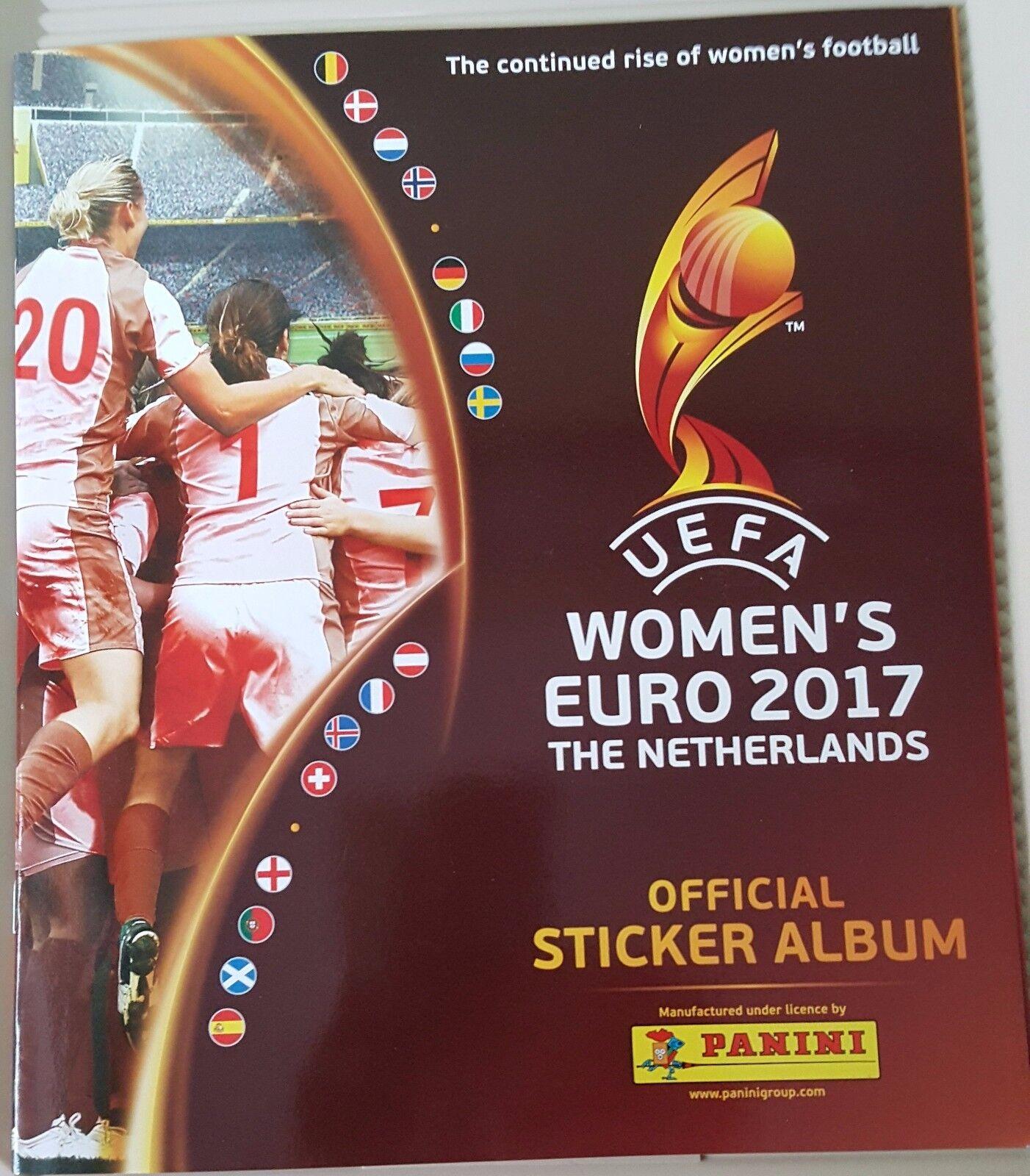 UEFA Wohombres Euro 2017 - Álbum completo