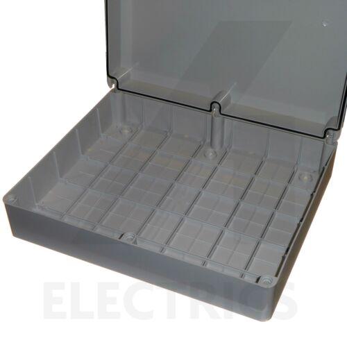 Extra Large Boîte De Jonction 460 x 380 x 120 mm résistant aux intempéries boîtier d/'extérieur IP56