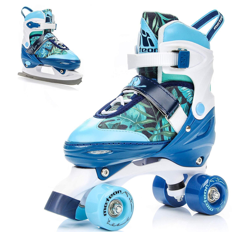 Meteor 2In1 Rollschuhe Und Schlittschuh - Kinder Rollerskates Set - Dieser Schuh